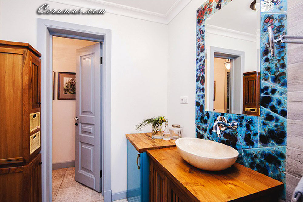 Click To Enlarge Image Mirror Bathroom Decorative Tiles 03 Jpg