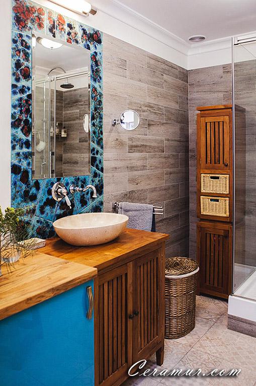 Click To Enlarge Image Mirror Bathroom Decorative Tiles 04 Jpg